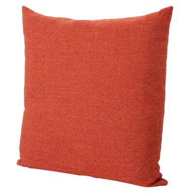 Duhart Fabric Throw Pillow Color: Muted Orange