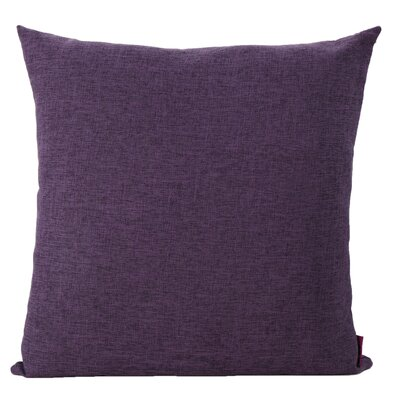 Duhart Fabric Throw Pillow Color: Muted Purple