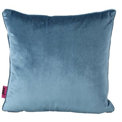 Owlswick Square Fabric Throw Pillow Color: Aqua