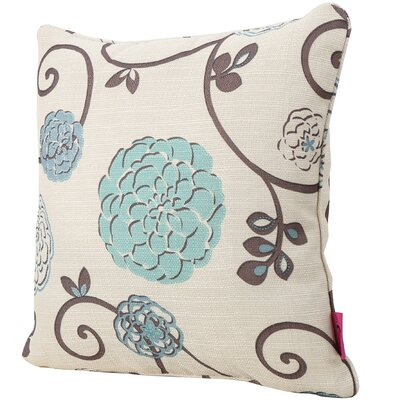 Christopherso Fabric Square Throw Pillow