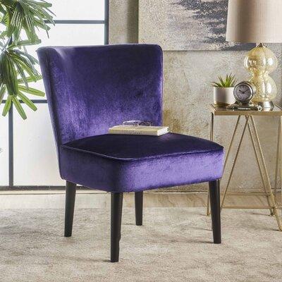 Dagnall Club Chair Upholstery: Plum