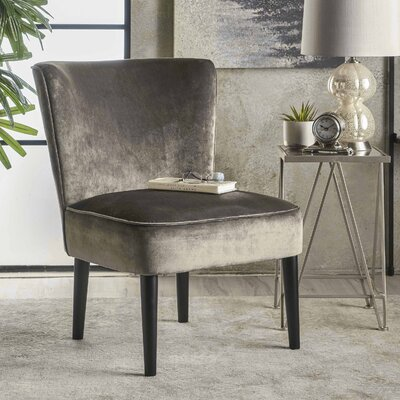 Dagnall Club Chair Upholstery: Gray