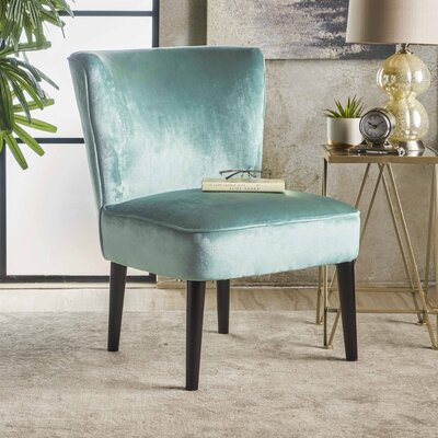 Dagnall Club Chair Upholstery: Turquoise