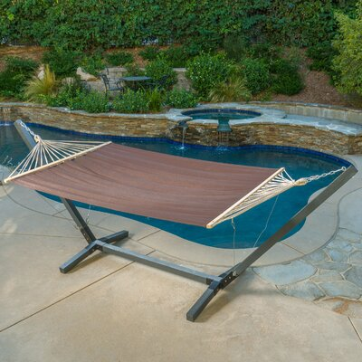 Danby Outdoor Hammock with Stand Color: Brown