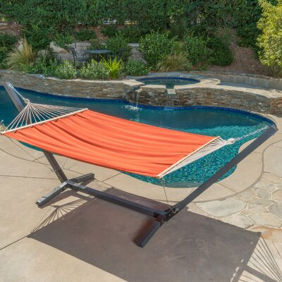 Danby Outdoor Hammock with Stand Color: Orange