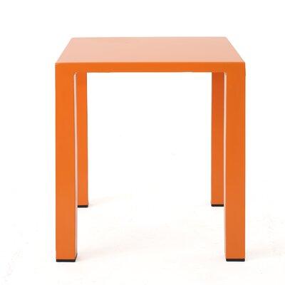 Chilson End Table Color: Orange