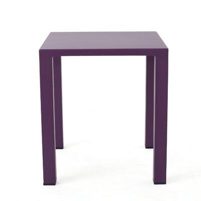 Chilson End Table Color: Purple