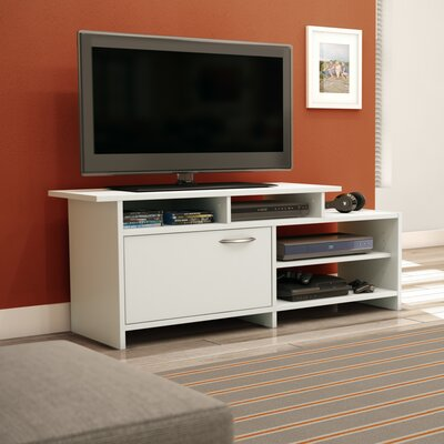 Step One 52 TV Stand Color: Pure White