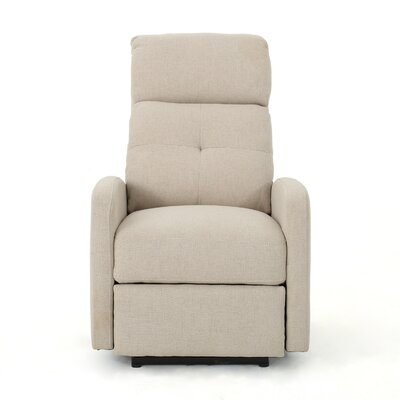 Yinka Power Recliner Upholstery: Wheat