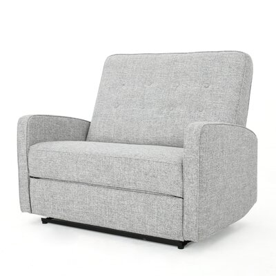 Farthing Manual Recliner Upholstery: Light Grey