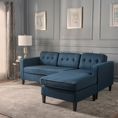 Chiltern Modular Sectional Upholstery: Navy Blue