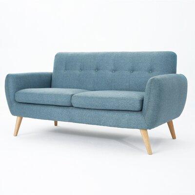 Erinn Sofa Upholstery: Blue