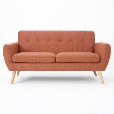 Erinn Sofa Upholstery: Burnt Orange