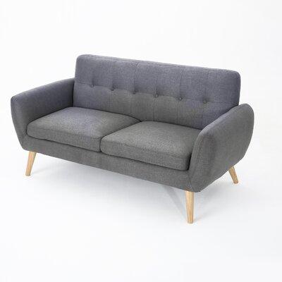 Erinn Sofa Upholstery: Dark Gray