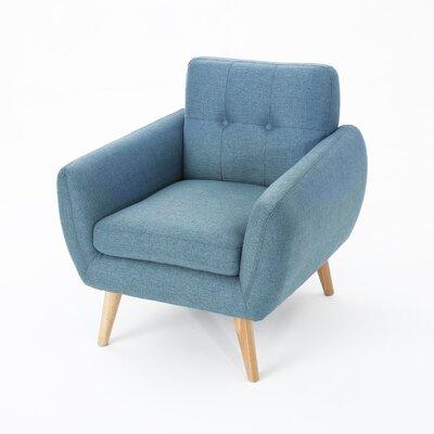 Erinn Armchair Upholstery: Blue