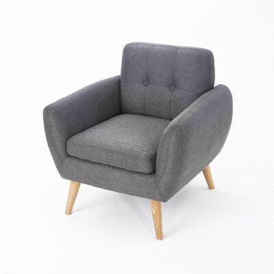 Erinn Armchair Upholstery: Dark Gray