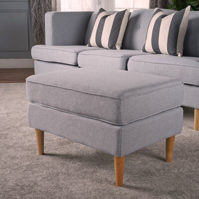 Farberware Ottoman Upholstery: Light Gray