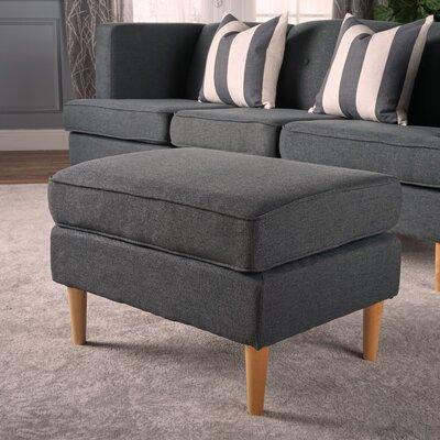 Farberware Ottoman Upholstery: Dark Gray