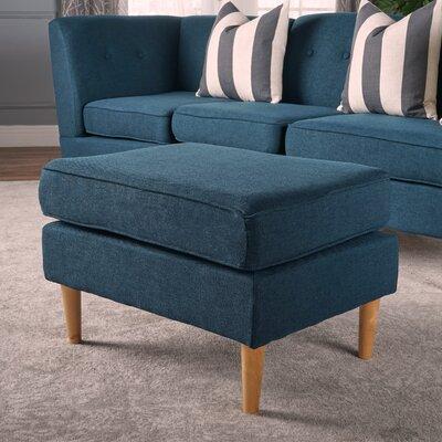 Cassady Ottoman Upholstery: Navy Blue