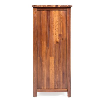 Groveport Wood Bar Cabinet
