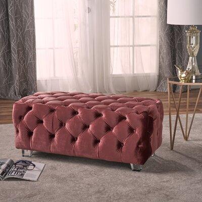 Lolita Cocktail Ottoman Upholstery: Blush