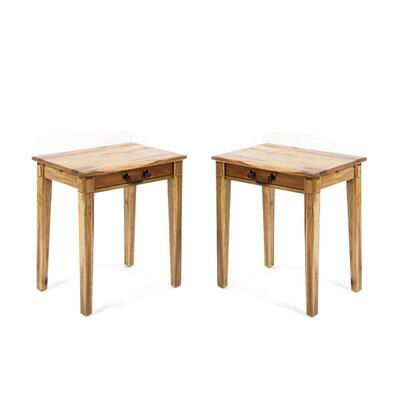 Hubbardston Wood End Table