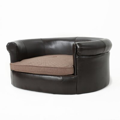 Desmond Leather Dog Sofa