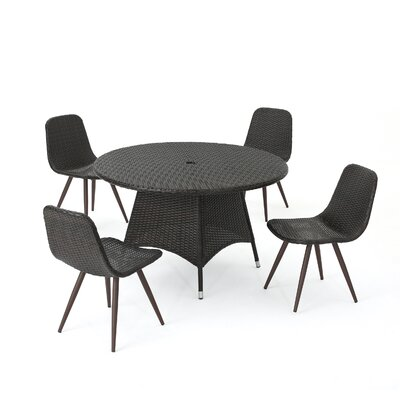 Outdoor Wicker Dining Set 1494 Product Photo