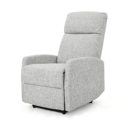 Bowman Fabric Power Push Button Recliner