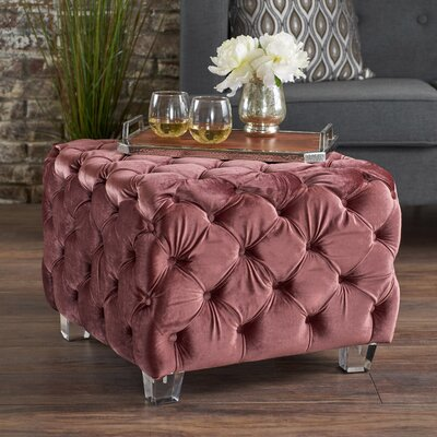 Finchley Ottoman Upholstery: Blush