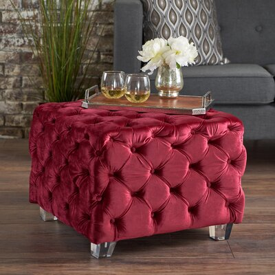 Finchley Ottoman Upholstery: Wine