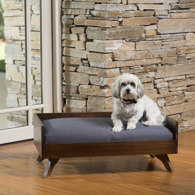 Aiden Wood Dog Bed