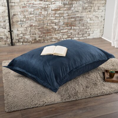 Chandler Bean Bag Chair Upholstery: Blue