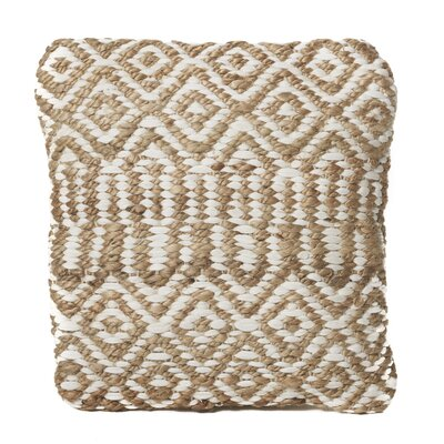 Chun Throw Pillow Color: Ivory