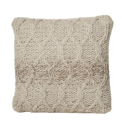 Lubbers Wool Throw Pillow