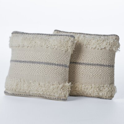Cerna Wool Throw Pillow