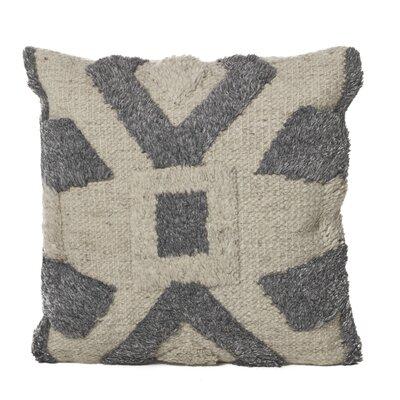 Chafin Wool Throw Pillow