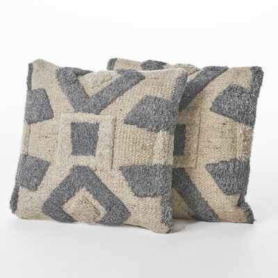 Chafin Wool Throw Pillow