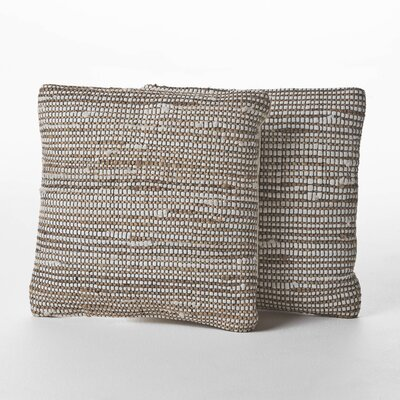 Chalet Weaved Cotton Throw Pillow
