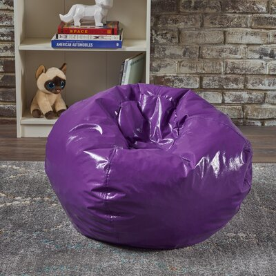 Jack and Jil Bean Bag Chair Upholstery: Purple