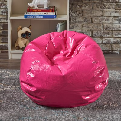 Jack and Jil Bean Bag Chair Upholstery: Hot Pink