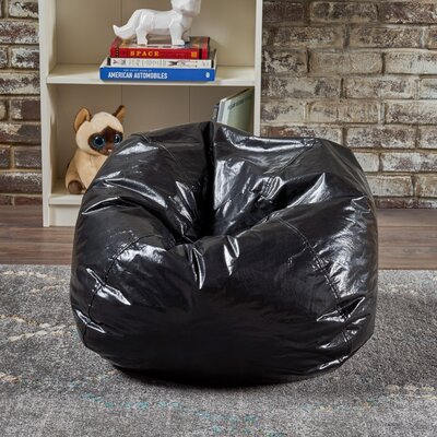 Jack and Jil Bean Bag Chair Upholstery: Black
