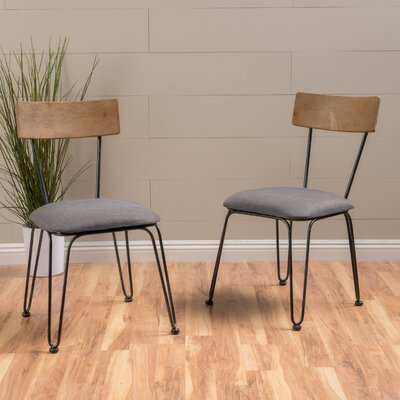 Boville Wood Side Chair Color: Gray