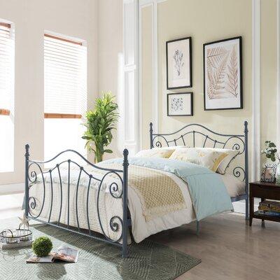 Trombley Queen Panel Bed Color: Matte Dark Gray