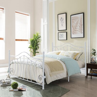 Trombley Queen Panel Bed Color: White