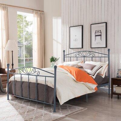 Troncoso Queen Panel Bed Color: Matte Dark Gray