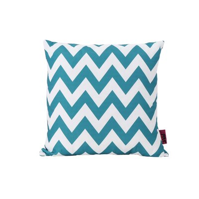 Mayhew Outdoor Pillow Color: Black