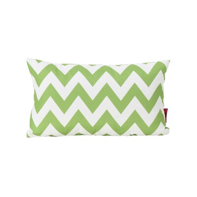 Swigart Rectangular Indoor/Outdoor Lumbar Pillow Color: Green/White