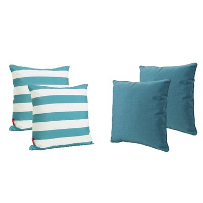 Dunecrest Outdoor Throw Pillow Color: Dark Teal