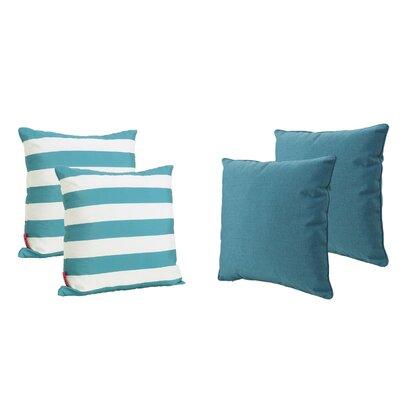 Dunecrest Outdoor Throw Pillow Color: Dark Teal